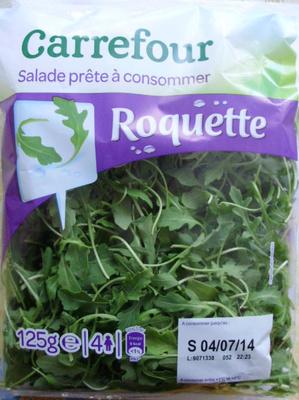 Salade prête à consommer, Roquette (4 portions)