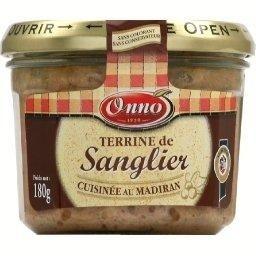Terrine de sanglier cuisinée au Madiran verrine