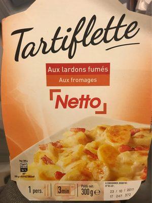 Tartiflette Aux lardons fumés Aux fromages