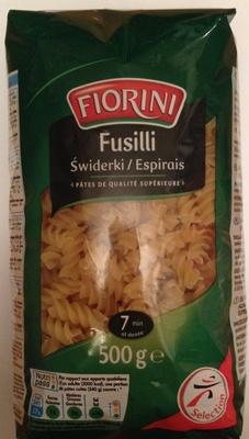 Fusilli (Pâtes de qualité supérieure)