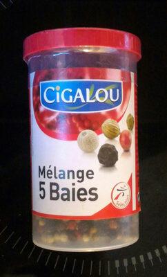Cigalou, Melange de 5 baies, le pot de