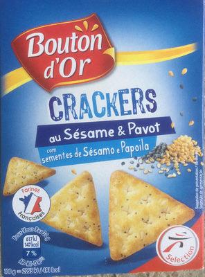 Crackers au Sésame & Pavot