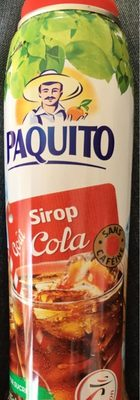Paquito sirop goût Cola
