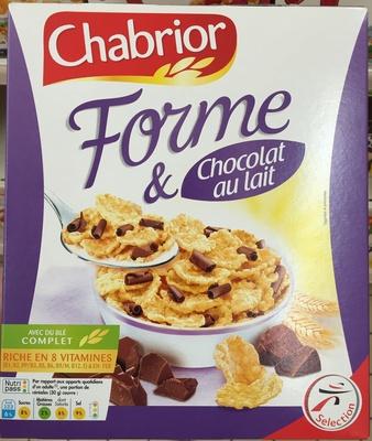 Forme & Chocolat au Lait