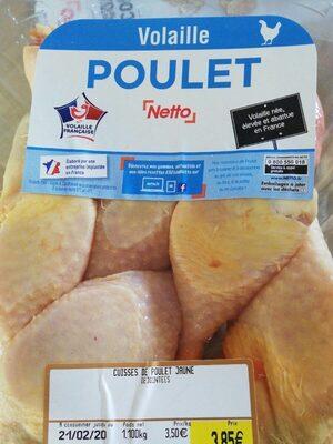 Cuisses de poulet jaune