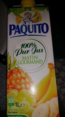 100% pur jus Matin Gourmand