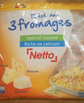 Râpé 3 fromages