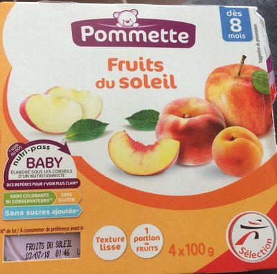 Compote bb fruits du soleil