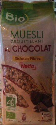 Muesli croustillant au chocolat