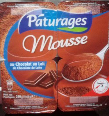 Pâturages Mousse Chocolat au Lait