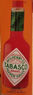 Sauce Pimentée Tabasco Rouge