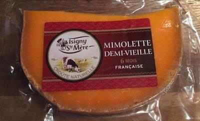 Mimolette Demie Vieille Au Lait Pasteurisé, 27%MG