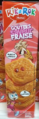 Biscuits fourrés fraise