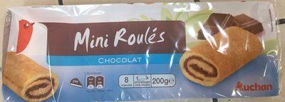 Mini Roulés Chocolat