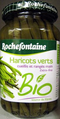 Haricots verts extra fins Bio - 340 g - Rochefontaine