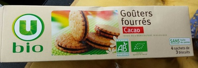 Goûters Fourrés Cacao