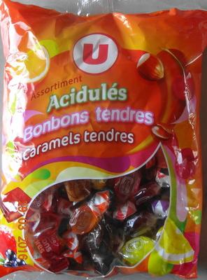 Aciduls Bonbons tendres, Caraels tendres