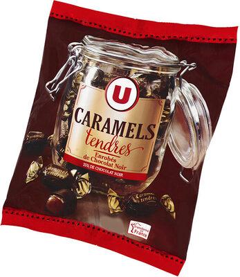 Caramels enrobés au chocolat noir