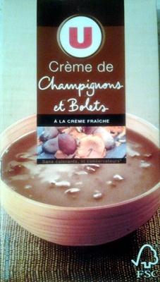 Crème de Champignons et Bolets