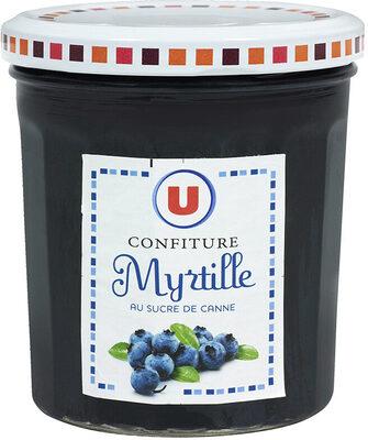 Confiture de myrtilles 50% de fruits