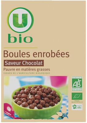 Boules enrobées saveur chocolat