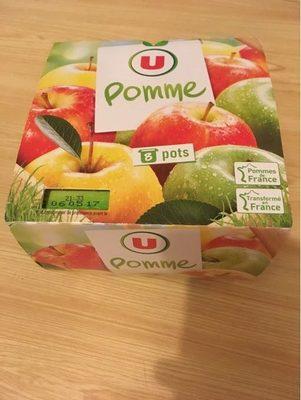 Dessert de fruits pommes