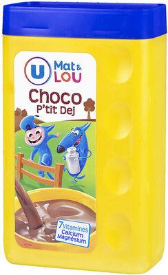 Chocolat en poudre petit déjeuner