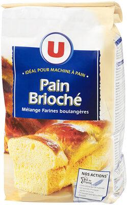 Mélange de farines boulangères pour pain brioché