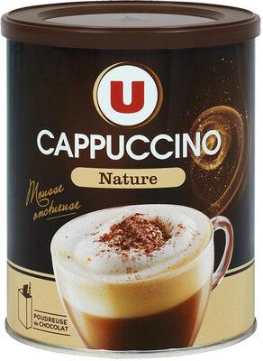 Cappuccino nature avec poudreuse