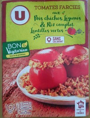 Tomates farcies bon et végétariens