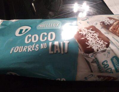 Moelleux coco fourrés au lait