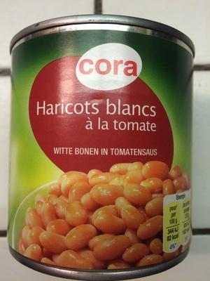 Haricots blancs à la tomate