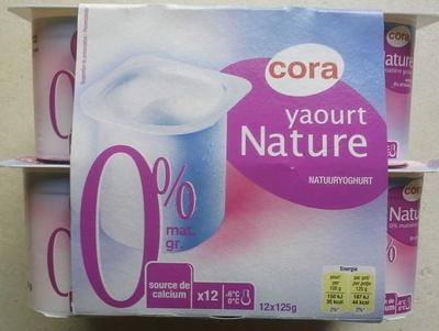 Yaourt Nature (0% MG)