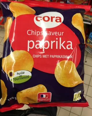 Chips saveur paprika