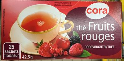 Thé Fruits rouges