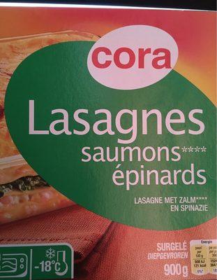 Lasagnes saumons epinards
