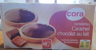 Tartelettes caramel chocolat au lait