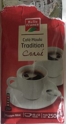 Café moulu tradition corsé