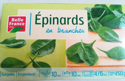 Epinards Branches