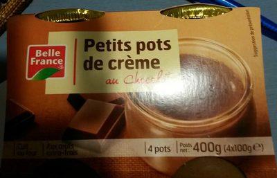 Petits Pots de Crème Chocolat