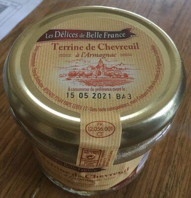 Terrine de Chevreuil à l'Armagnac
