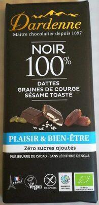 Dardenne noir 100% dattes graines de courge sésame et toasté