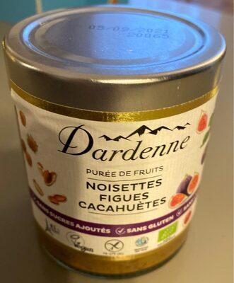 Purée de fruits noisettes figues cacahuetes