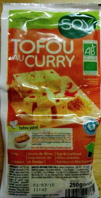 Tofou au Curry