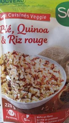 Blé, Quinoa & Riz rouge