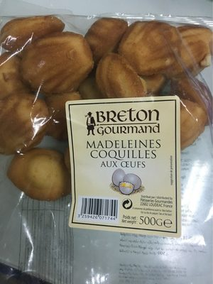 Madeleines coquilles aux oeufs