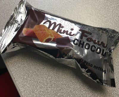 Mini fourré chocolat