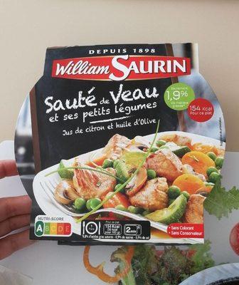 Sauté de Veau et ses petits légumes
