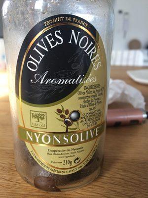 Olives Noires Aromatisées