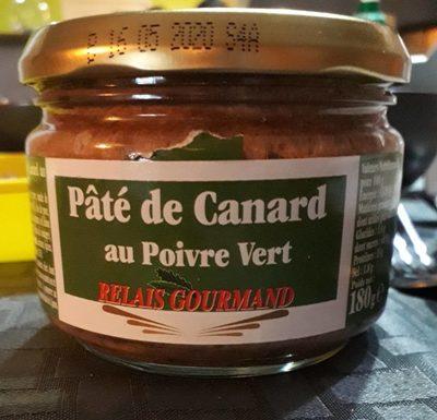 Pâté de Canard au Poivre Vert